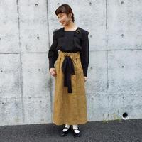 【数量限定*】ストライプロングスカート* Yellow