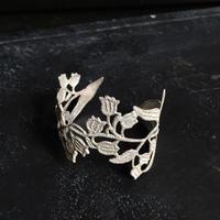 【受注】スズランレースのバングル*silver