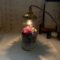 【Lilaf限定1点*】 flower bottle light (ボトルライト) Medium*Purple