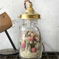 【限定1点】Lilaf フラワーボトルライト*small ピンク