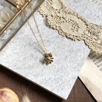 カモミールのネックレス* Gold