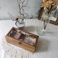 【限定】木製アクセサリーボックス*