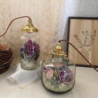 【Lilaf限定1点*】 flower bottle light (ボトルライト) Medium*Purple