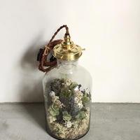 【限定一点】Lilaf flower bottle light(ボトルライト) blue