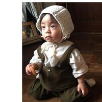 【限定】手編みのニット帽* baby