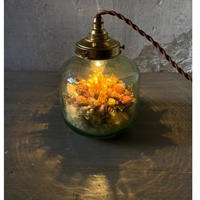 【Lilaf限定1点*】 flower bottle light (ボトルライト)Medium寸胴*ピンク