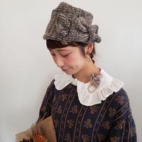 【Lilaf限定*】スイートピーのクラシカルニット帽*