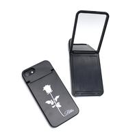 Lilika Rosemirror Black iPhonecase