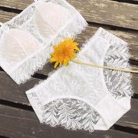 Leaf White Bikini