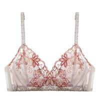 Lilac Dream Silk Bralette