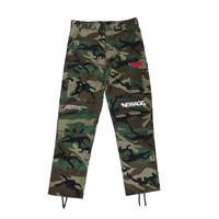 """TRANSFORM"" BACK-ZIP CARGO PANTS (WOOD-CAMO)"