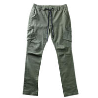 """WARFARE"" STRETCH CARGO PANTS (OLV)"