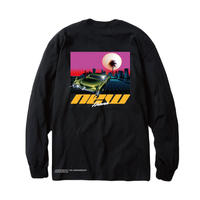 -NEW HEAVEN- L/S TEE (BLK)