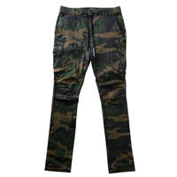 """WARFARE"" STRETCH CARGO PANTS (CAMO)"