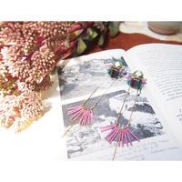 beads  fringe  pierce
