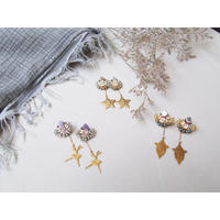 2way  charm  swing  earring
