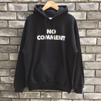 "【SUB POP 】""NO COMMENT"" Hoody Black サブポップ"