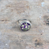 【GUSTAVO】 Flower Wreath Ring