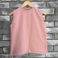 【Goodwear】 Sleeveless Top Greyish Pink グッドウエア スリーブレス
