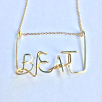 "【Kaystyle Jewelry for LILY】 ""BEAT"" Necklace"