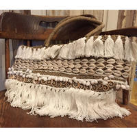 【ELLEL & JAMES】LARGE SHELL BASKET