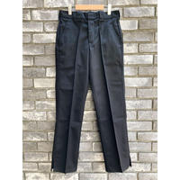 【LILYyoyogiuehara】 Re-make Slit Flare Trousers Black リメイク スリット フレア トラウザーズ
