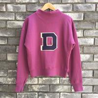 【dahl'ia】 D Sweat Purple ダリア スウェット