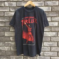 "【MUSIC Tee】MICHAEL JACKSONS ""THRILLER"" Tee マイケル ジャクソン スリラー"