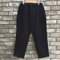 【CESTERS】 Easy Corduroy trousers Navy ケステル タック コーデュロイ イージーパンツ
