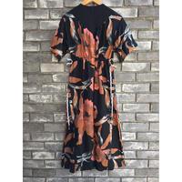 【NOMA t.d.】Strings Dress Brown ノーマ ドレス ワンピース