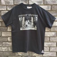 【MUSIC TEE】 MINOR THREAT マイナースレット