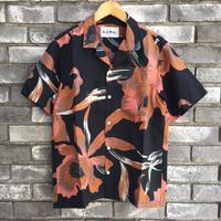 【NOMA t.d.】Summer Shirt - Floral  Brown ノーマ サマーシャツ フローラル