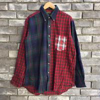 【CLEVE】 Dead Stock Flannel Shirt クリーヴ フランネルシャツ クレイジーパターン デッドストック C
