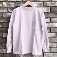 【Goodwear】 L/S Mock Neck Pocket Tee Ice Purple グッドウエア ロンT