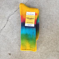 【Maggie's】 Hand-Dyed Crew Socks Single タイダイ ソックス