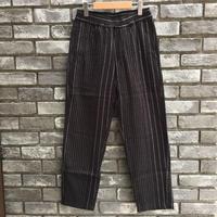 【NOMA t.d.】 Pin Stripe Trousers Black ノーマ ピンストライプ トラウザーズ