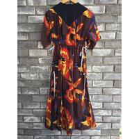 【NOMA t.d.】Strings Dress Orange ノーマ ドレス ワンピース