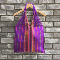 【UNIQUE BATIK】 Hammock Bag Purple ハンモック バッグ