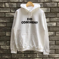 "【SUB POP 】""NO COMMENT"" Hoody White サブポップ"