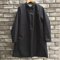 【Powderhorn Mountaineering 】 3Layered Nylon M.Coat Black パウダーフォーン オーバーコート 黒