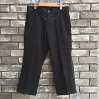 【NOMA t.d.】Side Line Trousers Black×Black ノーマ サイドライン トラウザーズ