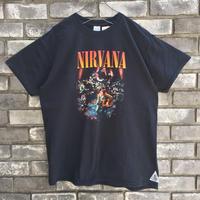 【MUSIC TEE】 Nirvana Unplugged ニルヴァーナ アンプラグド