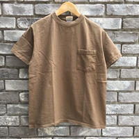 【Goodwear】 S/S Pocket Tee Brown グッドウエア
