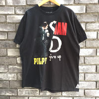 【MOVIE&MUSIC TEE】 PULP FICTION  & PEAL JAM twins Tee パルプフィクションパールジャム