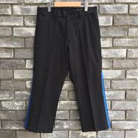 【NOMA t.d.】Side Line Trousers Black×Blue ノーマ サイドライン トラウザーズ