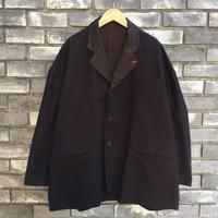 【Breechez】 Heavy Moleskin Reversible Coat Brown ヘビー モールスキン リバーシブル コート