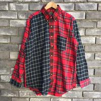 【CLEVE】 Dead Stock Flannel Shirt クリーヴ フランネルシャツ クレイジーパターン デッドストック B
