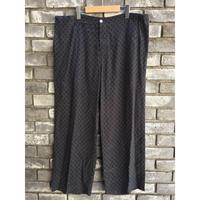 【dahl'ia】 Relux Wide Pants Navy ダリア リラックス ワイドパンツ