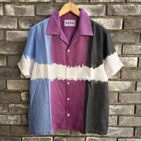 【NOMA t.d.】 3dye SS Shirt -Nature Blue / Purple / Black ノーマ スリーダイ シャツ