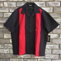 【STEADY CLOTHING】 Bowling Shirt 2-tone Collar  ステディ クロージング ボーリングシャツ 2トーン